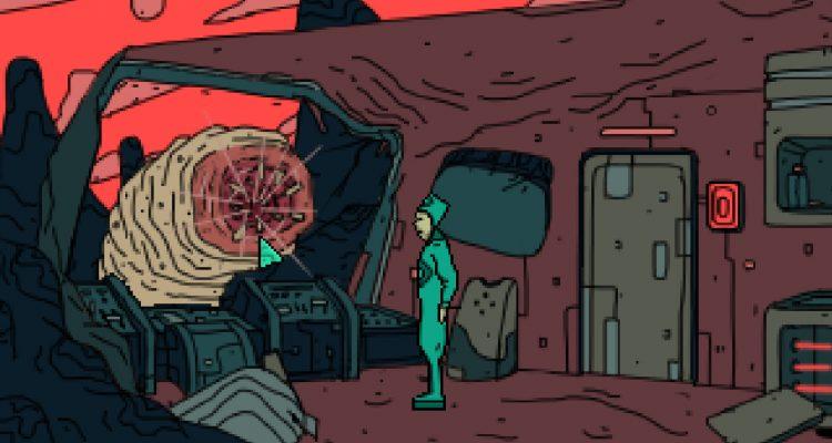 Сразитесь с гигантским червем в бесплатной sci-fi игре Fleshworms