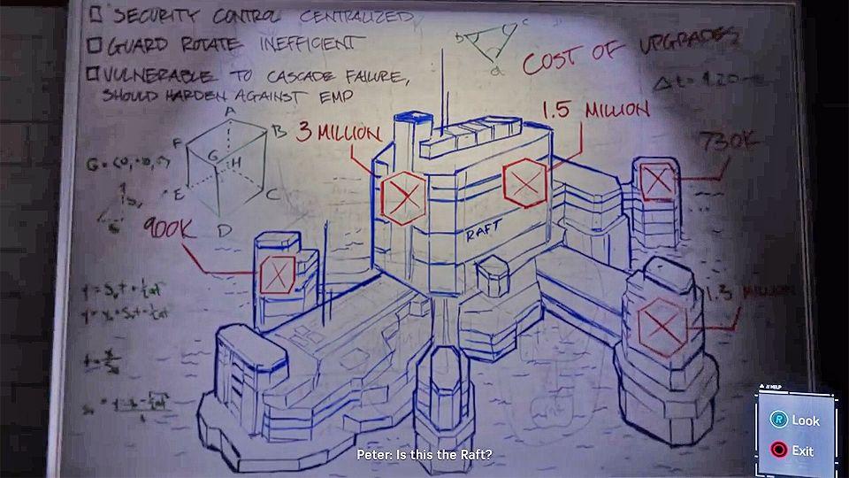 Spider-Man PS4 – план штурма Райкерс от доктора Октавиуса