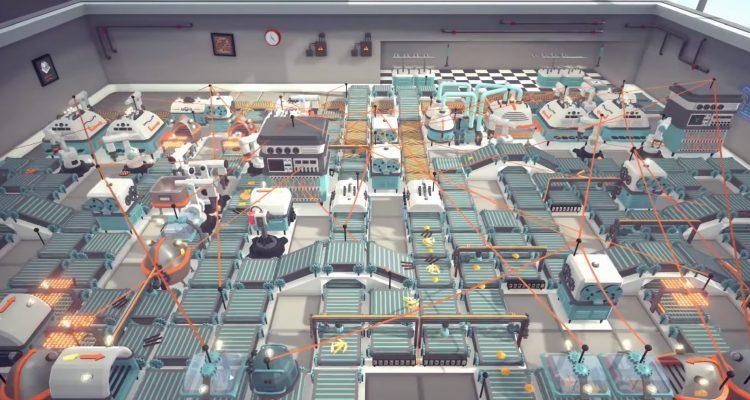 Automachef, игра о производстве автоматизированных блюд
