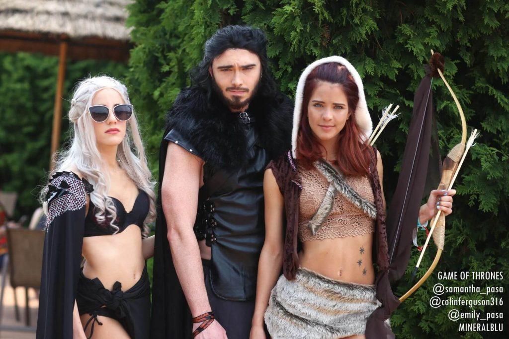 ColossalCon 2019 или величайшая вечеринка у бассейна среди косплееров