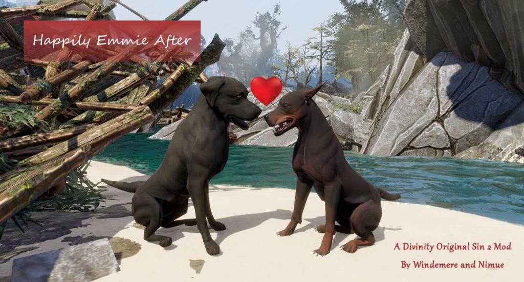 Мод для Divinity: Original Sin 2 воссоединяет двух несчастно влюблённых собак