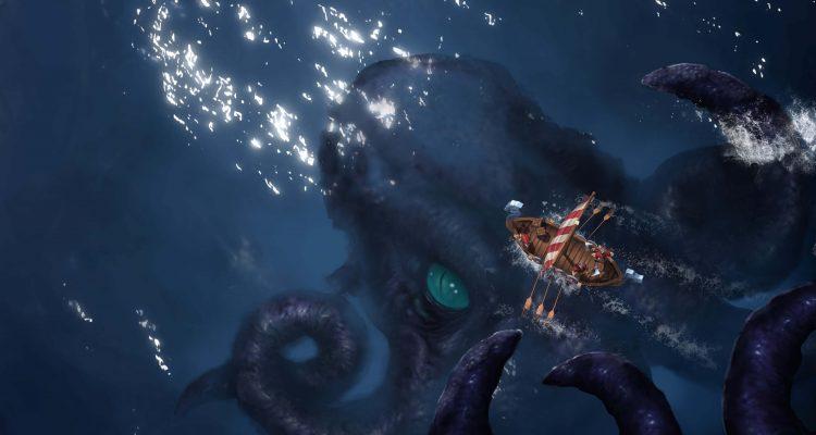 DLC к Northgard's Clan of the Kraken позволит вам играть за поклоняющихся кальмару