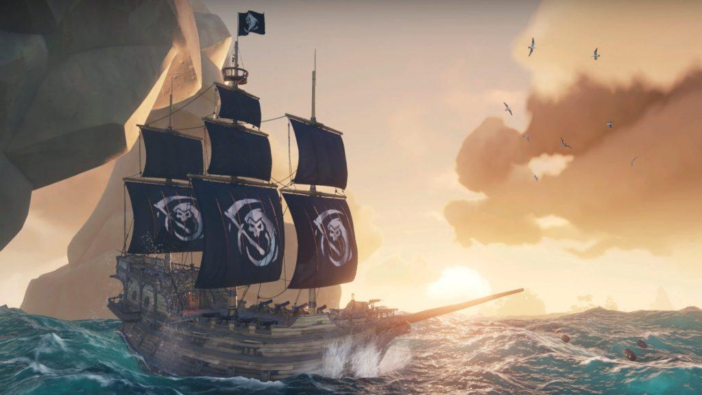 Для Sea of Thieves вышло обновление Black Powder Stashes