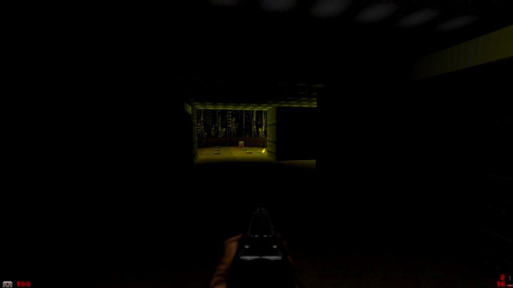 Мод для Doom 2, отключающий весь свет