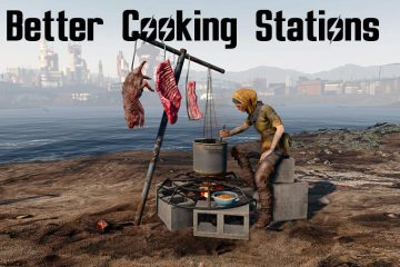 Мод Better Cooking Stations для Fallout 4