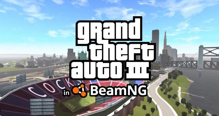 Либерти-Сити из Grand Theft Auto 3 был портирован в BeamNG