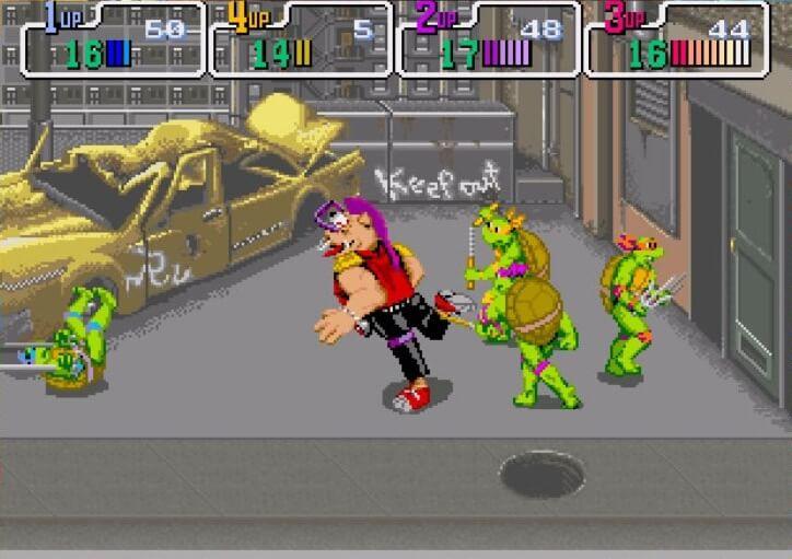 Рокстеди – Teenage Mutant Ninja Turtles