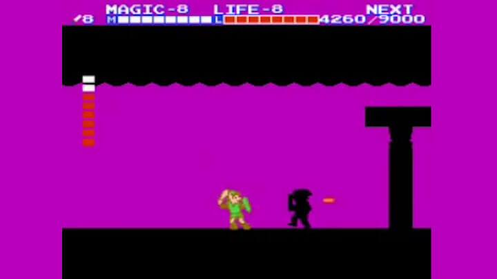 Тень Линка – Zelda 2: The Adventure of Link