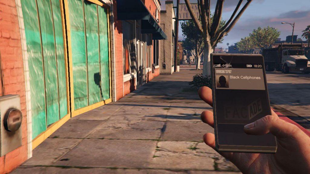 Взрывающиеся телефоны в GTA 5