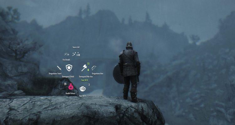 Эффективное управление оружием благодаря моду iEquip для Skyrim
