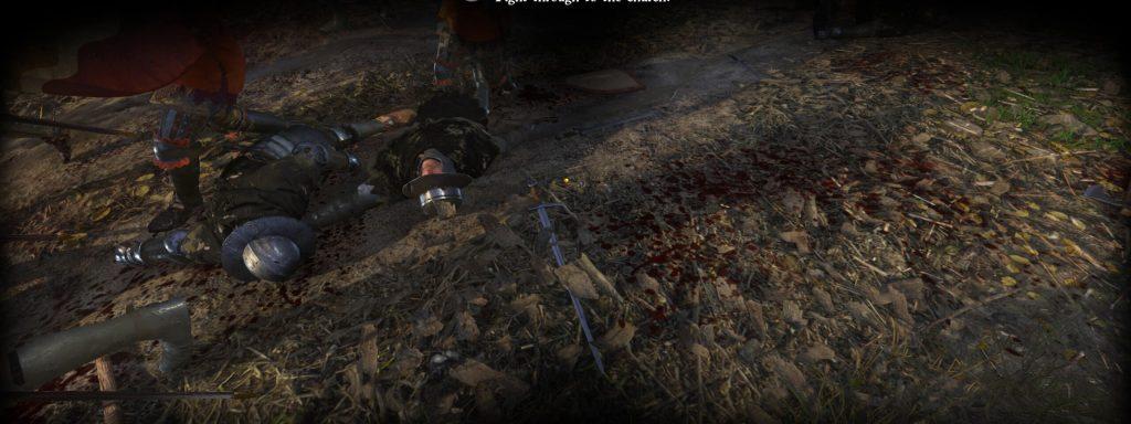 Мод для Kingdom Come: Deliverance добавляет брызги крови на стенах и полу