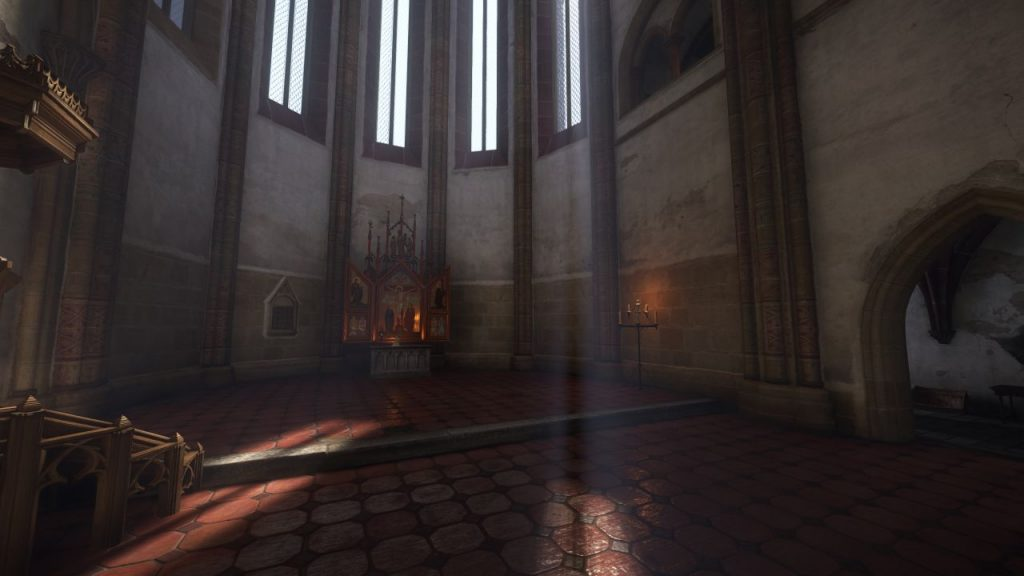 Мод для Kingdom Come: Deliverance, делающий тени тумана объемными