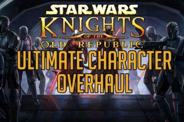 Взгляните на Knights of the Old Republic с трехгигабайтной переработкой персонажей