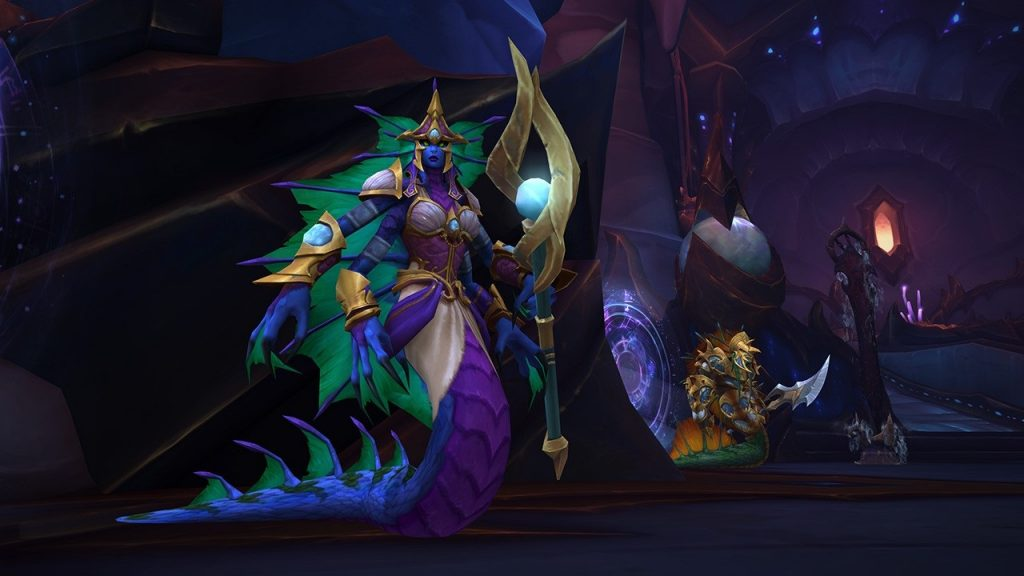 Королева Азшара до сих пор не покорилась игрокам World of Warcraft
