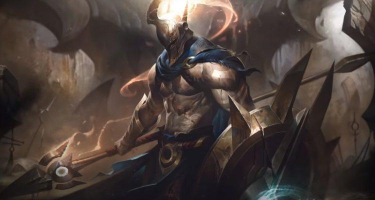 League of Legends - обновление героя Pantheon