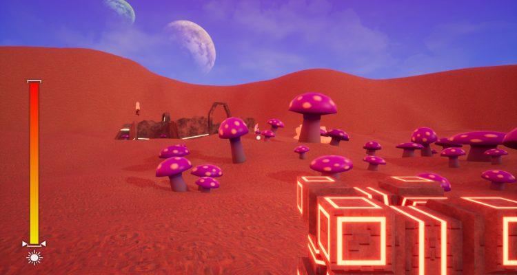 LSD: Lost Sandy Desert - это бесплатное путешествие на чужую планету