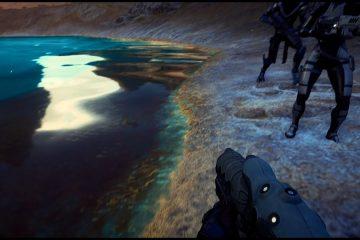 Мод от первого лица для Mass Effect: Andromeda со слайдером FOV теперь доступен для скачивания