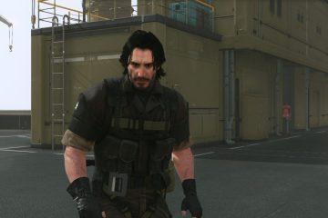 Мод позволяющий играть за Киану Ривза в Metal Gear Solid 5