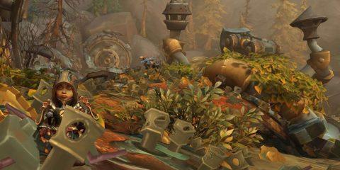 Моя новая любимая локация в World of Warcraft – это заброшенная мусорная свалка