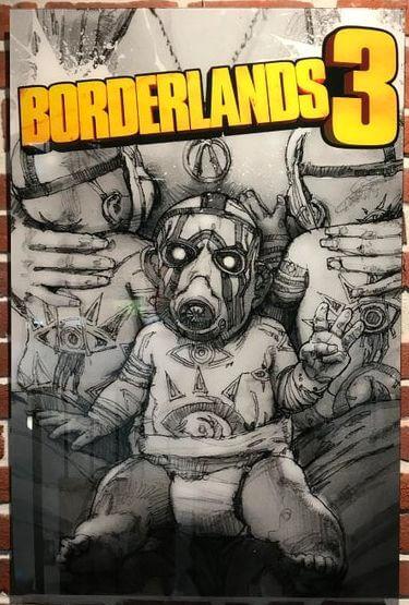На постере Borderlands 3 могла оказаться нога