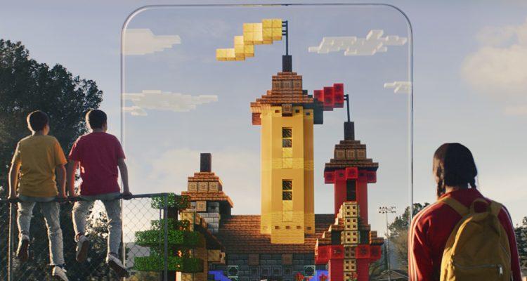 Новый геймплей из Minecraft Earth и закрытая бета