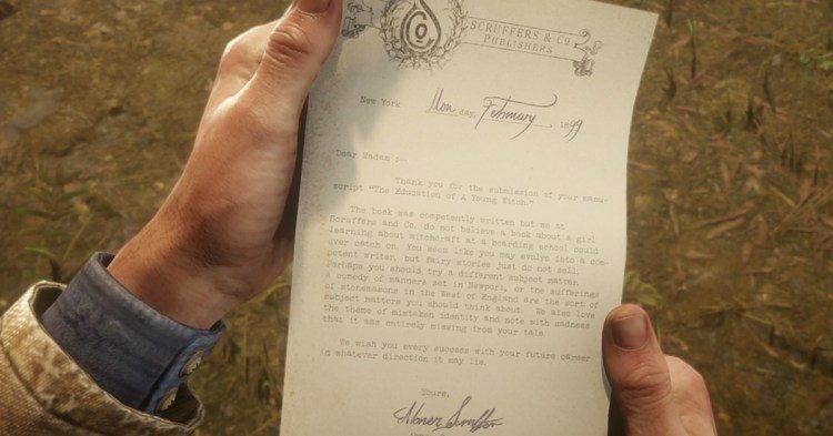Отсылка к Гарри Поттеру в Red Dead Redemption 2