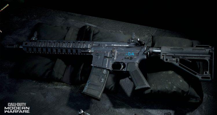 Персонализация оружия в Call of Duty: Modern Warfare