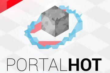 Superhot + Portal = отличный мод PORTALHOT