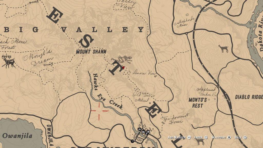 Локация 2: Гора Шан