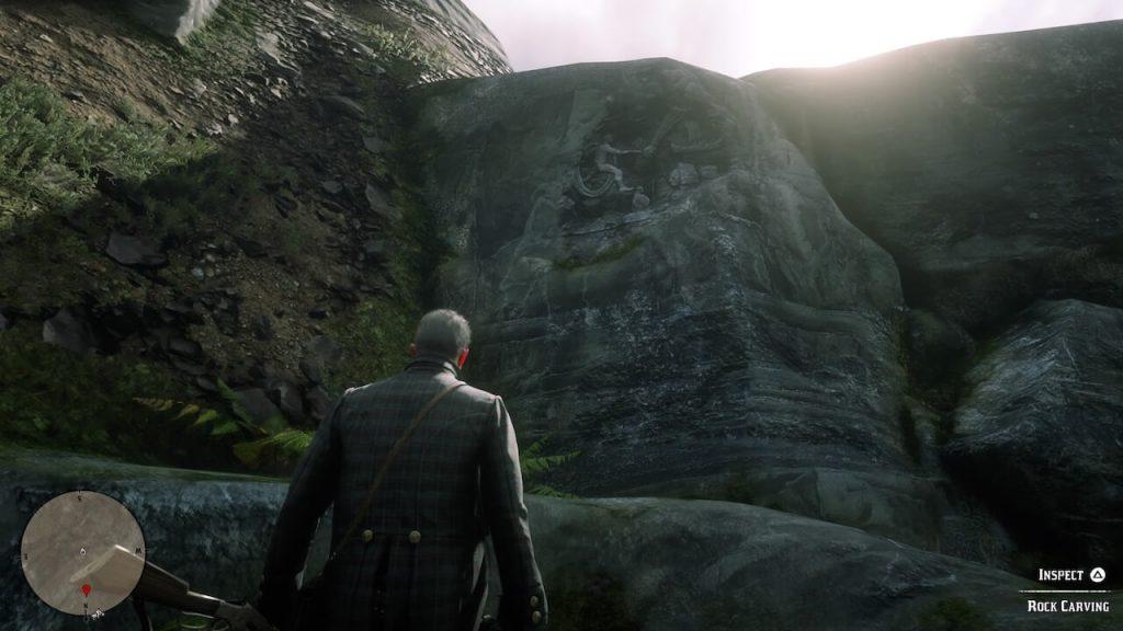 Red Dead Redemption 2: карты всех локаций с наскальными рисунками