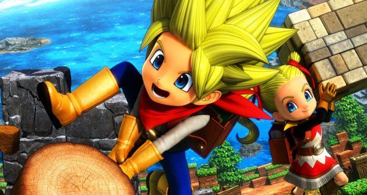 Состоялась европейская премьера Dragon Quest Builders 2
