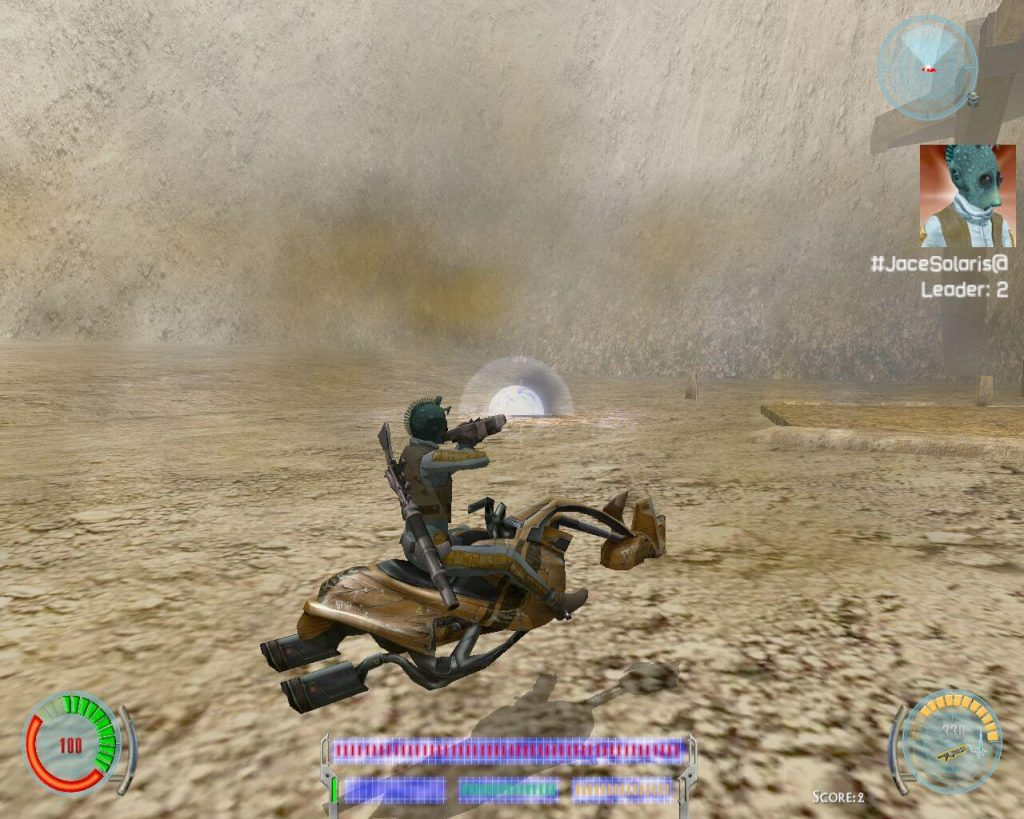 Мод для Star Wars Jedi Knight: Jedi Academy под названием SerenityJediEngine2019