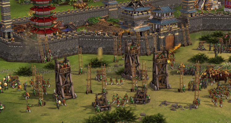 Stronghold: Warlord хочет исправить ошибки со стенами и построением юнитов