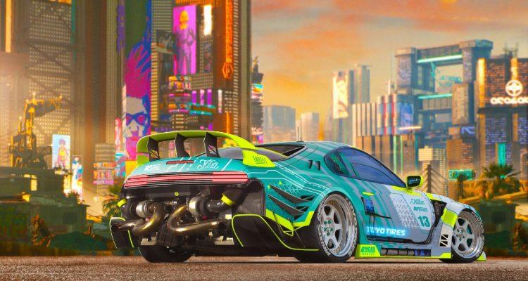 В Cyberpunk 2077 будет возможность коллекционировать автомобили