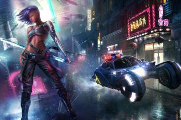 В Cyberpunk 2077 у нас будет катана, как и подобает настоящему самураю