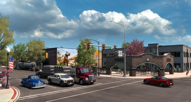 В дополнении к American Truck Simulator игроки смогут отправиться в штат Юту