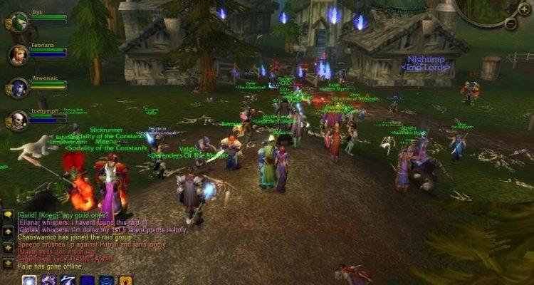 Фанаты World of Warcraft Classic готовятся к тому, чего у них не было в 2004 году: стримерам