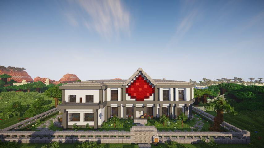 Умный дом с применением красного камня