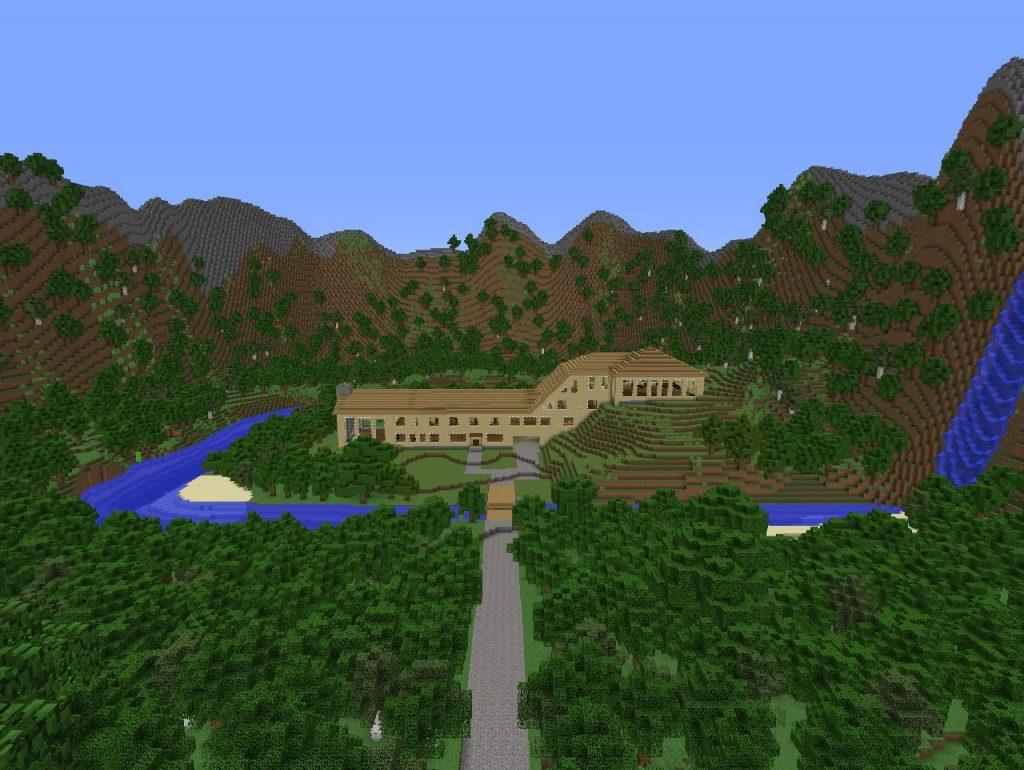 Загородный особняк