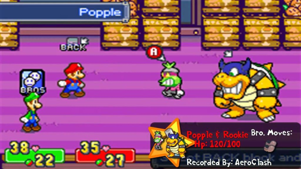 Mario and Luigi: Superstar Saga – Popple