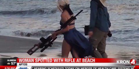 Косплеер получил предупреждение от шерифа из-за гигантской винтовки