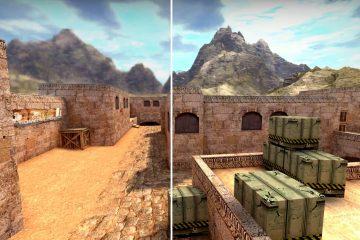 Моддер воссоздал классические текстуры Dust 2 для CS:GO, используя искусственный интеллект