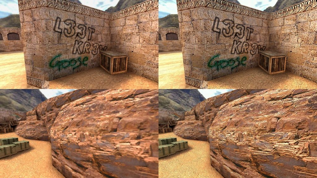 Моддер воссоздал классические текстуры Dust 2 для CS:GO, используя ИИ