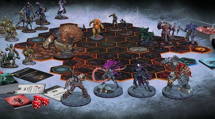 Darksiders: Forbidden Land - всадники Апокалипсиса в настольной игре