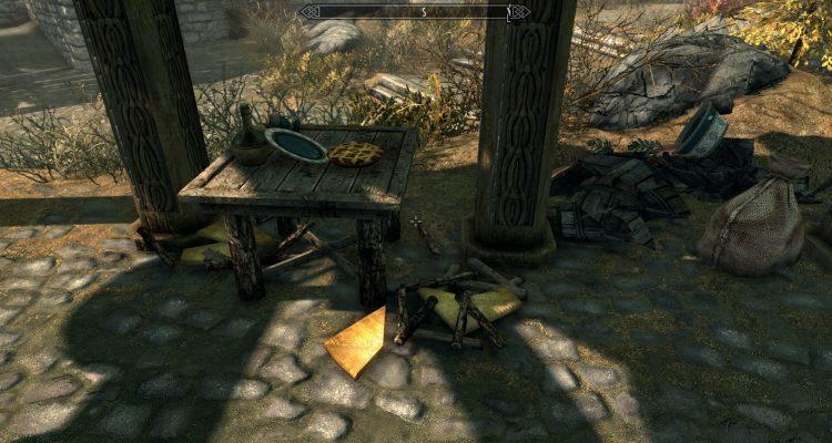 Мод для TES V: Skyrim позволяет полностью разрушать различные объекты по типу бочек и стульев