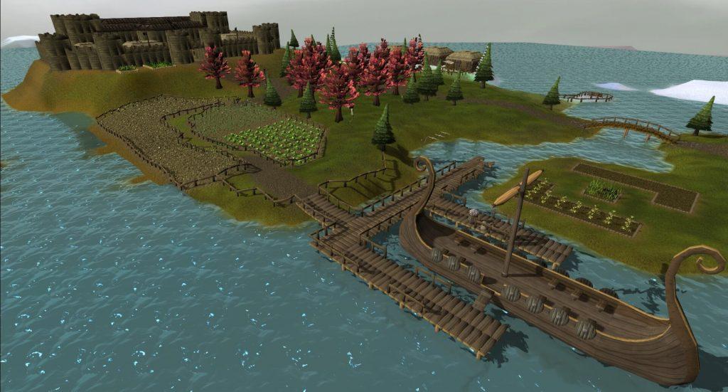 Runescape позволяет вам управлять целым островом