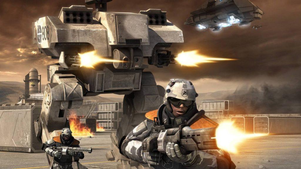 В Battlefield 2142 можно было получить бонусные очки, если вы в него не играли