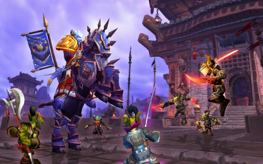 В World Of Warcraft умножается опыт (а еще, технически, дают деньги просто так)