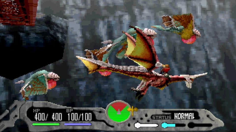 Panzer Dragoon Saga (Sega Saturn)