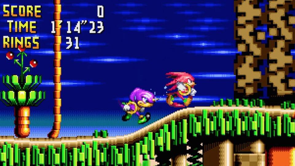 Knuckles' Chaotix (Sega 32X)